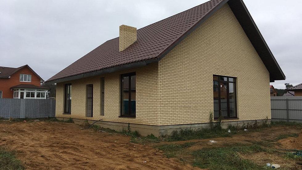 Дом 120 кв.м. с центральными коммуникациями.