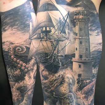 Nautical leg piece
