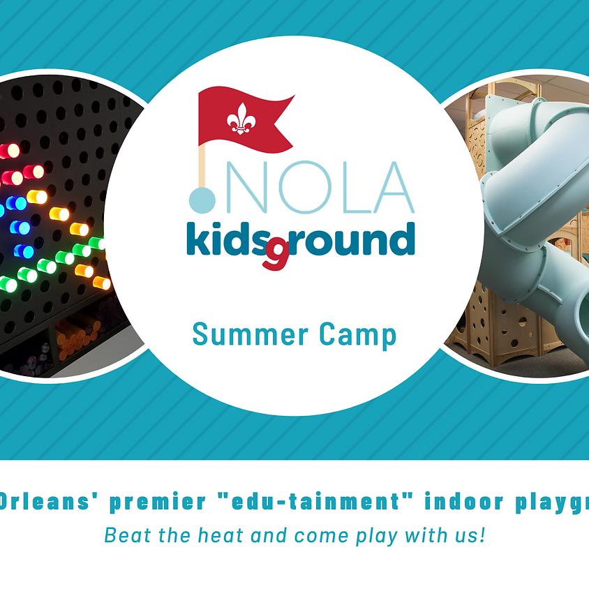 2020 NOLA Kidsground Summer Camp