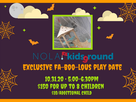 Fa-BOO-lous Private Play Date