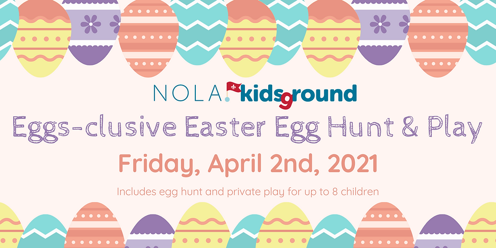 Eggs-clusive Easter Egg Hunt & Play