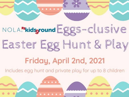 Eggs-clusive Easter Egg Hunt and Play