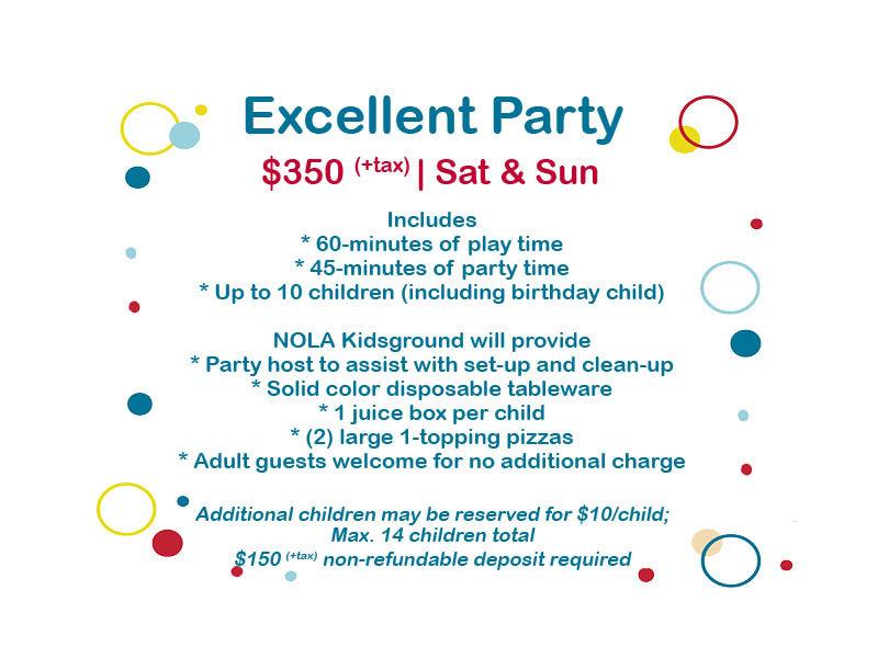 Excellent Party (Deposit)