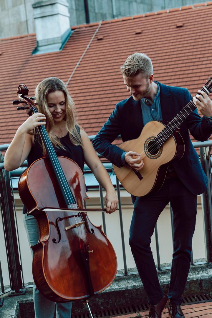 David e Mia - Playing