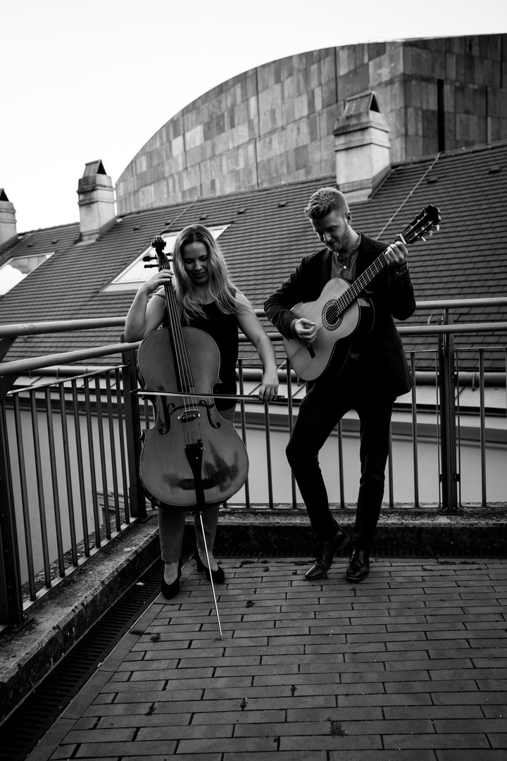 David e Mia - Black White
