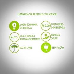 Led Ideiais Solar