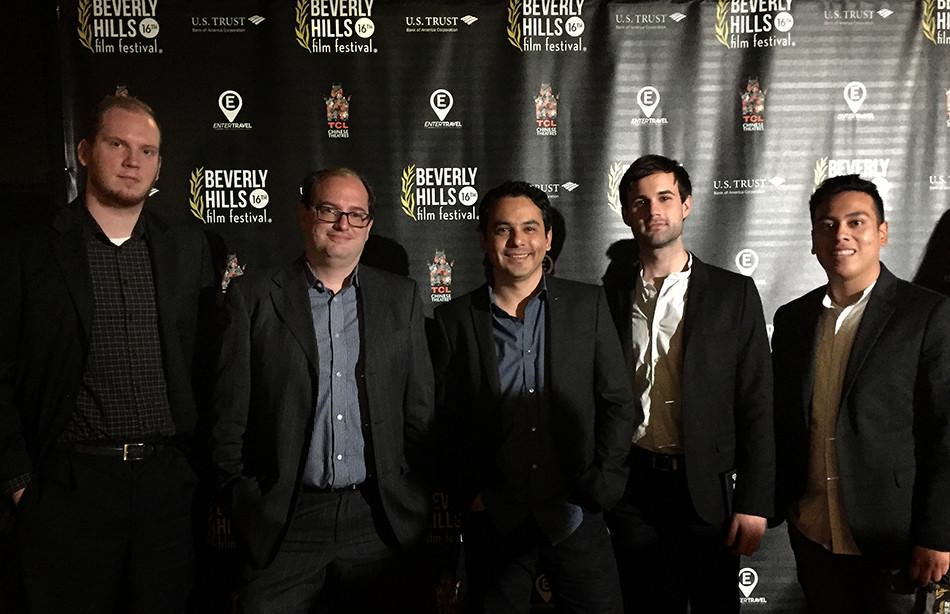 Justin Coupe, Juan Pablo Vacatellos, Mario Ramos y Alvaro Huezo.