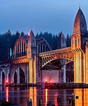 Florence-Oregon-Suislaw-Bridge
