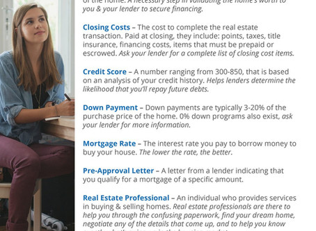 Buying a Home? Do You Know the Lingo? [INFOGRAPHIC]