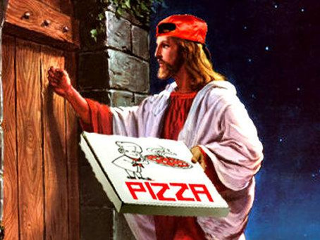 What do miracles, pizza, and Jesus have in common?