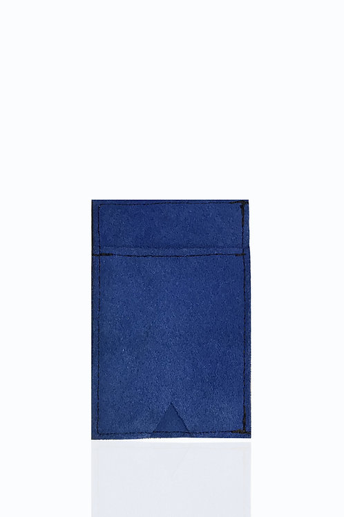 SSN 017-18 CARD HOLDER/ WALLET-BLUE