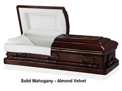 Solid Mahogany - Almond Velvet