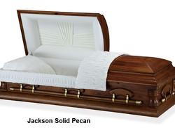 Jackson Solid Pecan