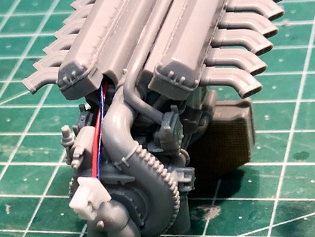 Building engines and preparation of engine-nacelles for electronics