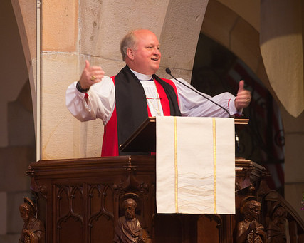 Bishop Kendrick preaches Sewanee commencement, receives honorary doctorate