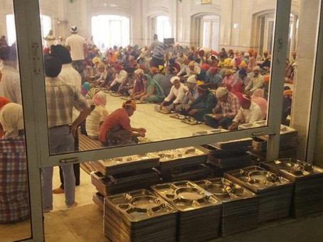 Panama City Beach's Arlene Shaheen feeds the hungry at Sikh temple