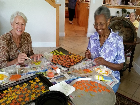 Holy Trinity, Pensacola, visits Southern Oaks