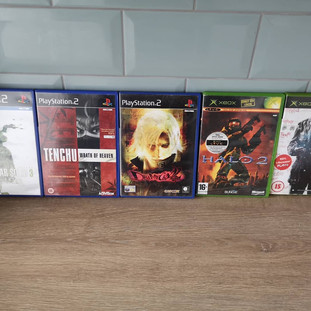 PS2 and Xbox Haul