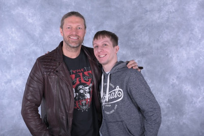 "Me & Former WWE Champion Adam ""Edge"" Copeland"