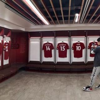 Liverpool FC Dressing room