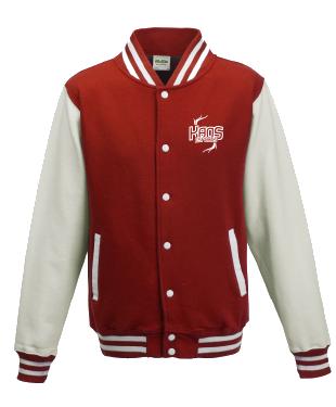 KaoS Varsity Jacket Red