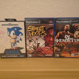 Sega Megadrive And PS2 Haul
