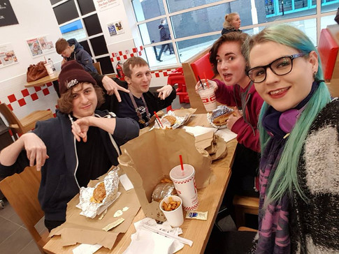5 Guys, Me, George, Jord and Em and the Switch