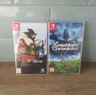 Xenoblade Chronicles Definitive Edition & The Banner Saga Trilogy