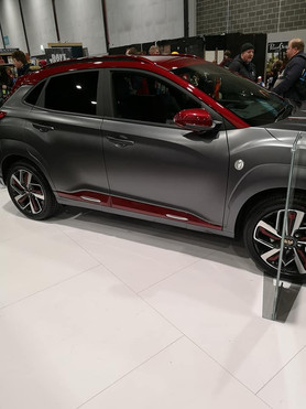 Iron Man Car Side