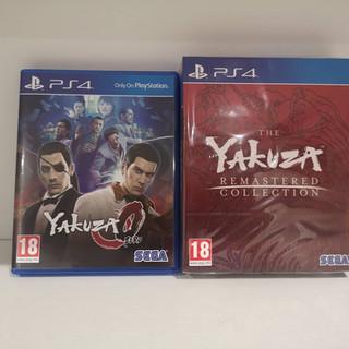 Yakuza 0 & Yakuza Remaster Collection