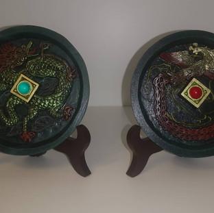 Dragon / Phoenix Mirror