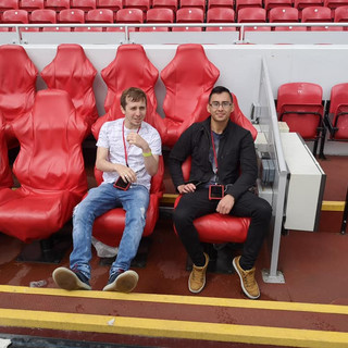Me & James Anfield Dugout