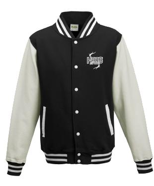 KaoS Varsity Jacket Black