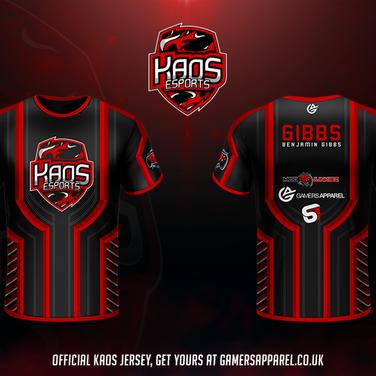 KaoS Official Team Jersey