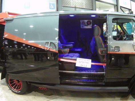 The ATeam GMC Vandura van