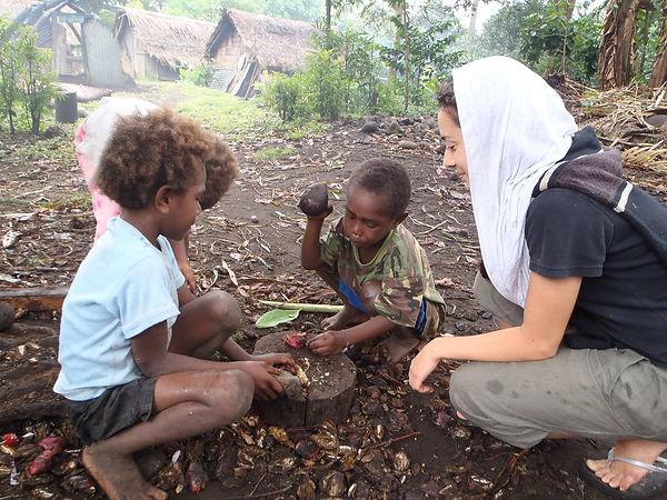 WFWP Australia Books for the islands project in Lamnatu, Vanuatu