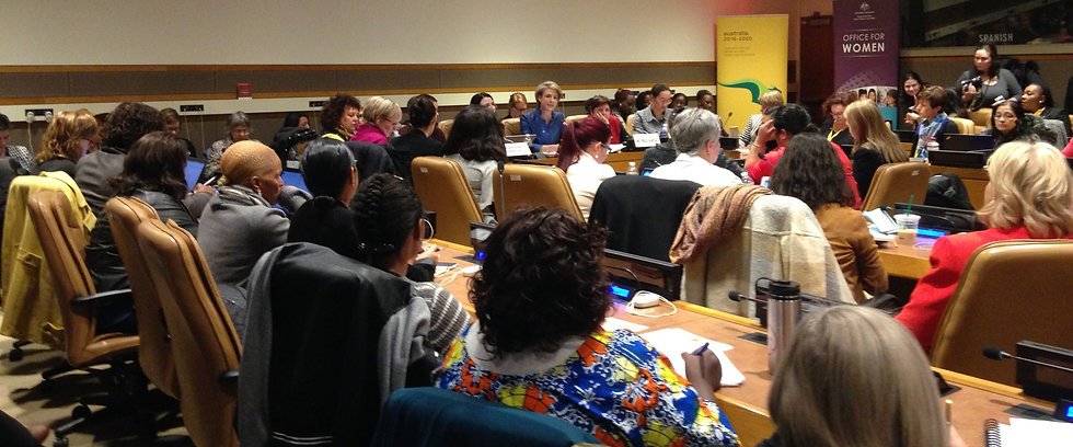 CSW side event - Modern Slavery and Human Trafficking: effective response for women and girls
