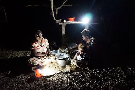 WFWP Australia providing solar lights for remote villages of Tanna, Vanuatu 2014