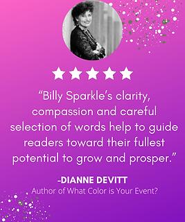 Billy Sparkle - Dianne Devitt Testimonial