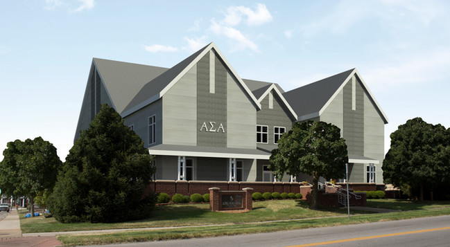 Alpha Sigma Alpha Sorority House- Rendering