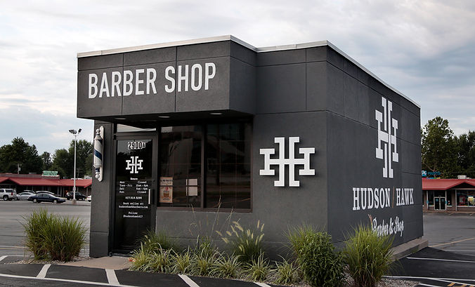 An interior and exterior renovation to Hudson Hawk Barber Shop in Springfield, MO revived this existing building with a fresh, modern aesthetic.