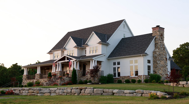 Farm House Style Private Residence- Exterior