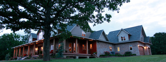 Farmhouse Style Private Residence- Exterior