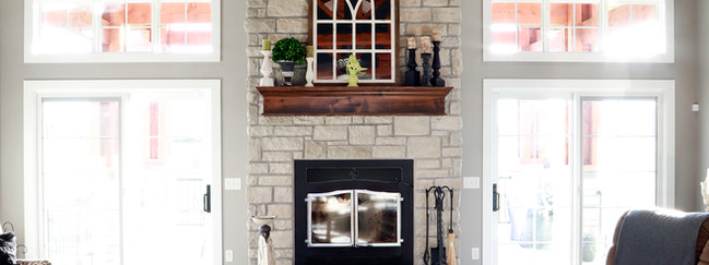 Farmhouse/Craftsman Style Private Residence- Interior