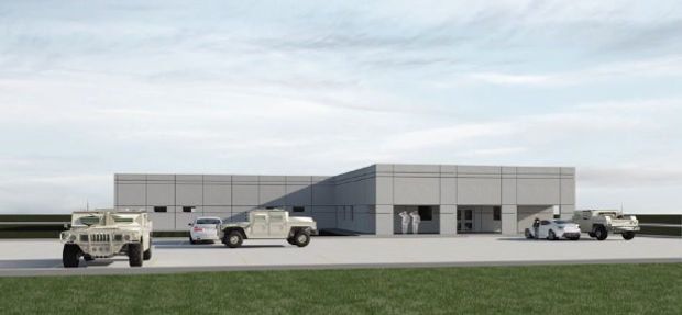 State of Missouri Barracks designed by Buddy Webb & Company