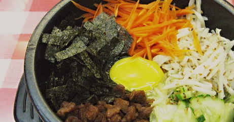 Hotpot Korean Bibimbap