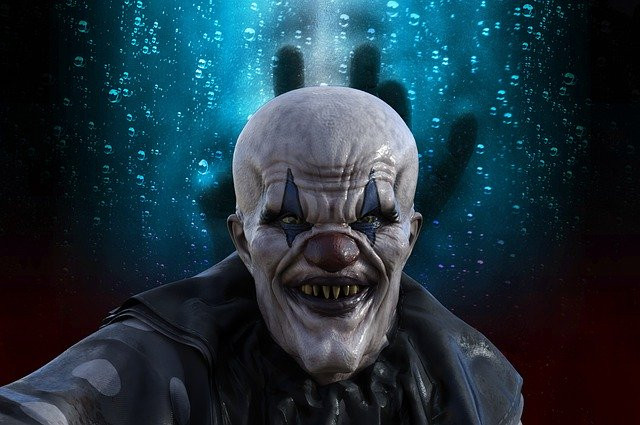 Creepy Horror Clown