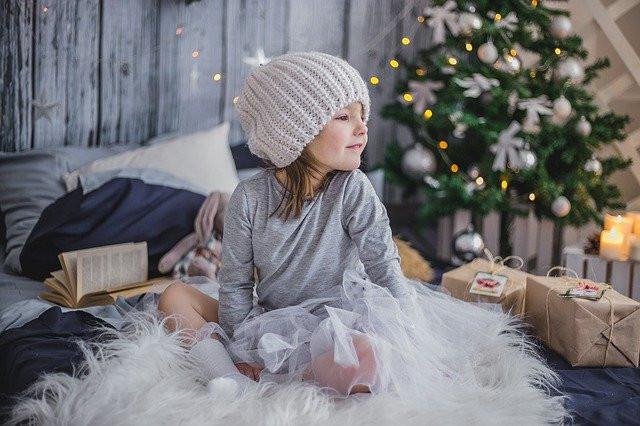 small child on Christmas Day, Sam Nash,