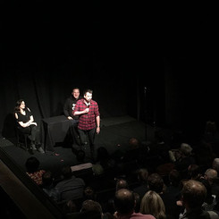 Onstage at The Soho Theatre