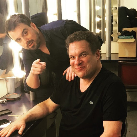 Backstage with Jeff Garlin